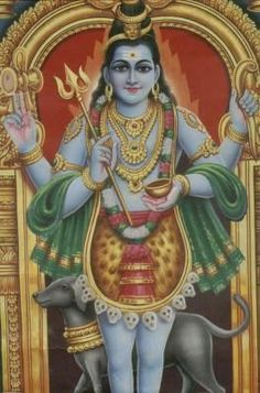 In Shaivism, he is a fierce manifestation of Shiva associated with annihilation Shiva Hindu, Shiva Art, Hindu Deities, Hindu Art, Lord Shiva Hd Images, Lord Vishnu Wallpapers, Hanuman Photos, Saints Of India, Shiva Shankar