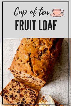 Perfect for an afternoon tea break, our fruit loaf can be made in advance and shared with friends. Fruit Loaf Recipe, Fruit Bread, Loaf Recipes, Baking Recipes, Cake Recipes, Light Fruit Cake Recipe, Food Cakes, Tea Cakes, Fruit Cakes