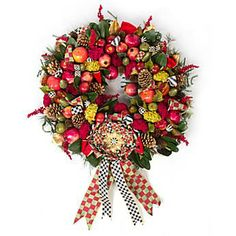 Estate Barn Wreath - now I just need my barn and a draft horse ~ <3