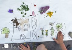 prírodné farby alebo maľujeme prírodou Crafts For Kids, Crafts For Children, Kids Arts And Crafts, Kid Crafts, Craft Kids
