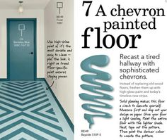 Oh, this floor!!: c/o Home Depot's #DreamBook2012