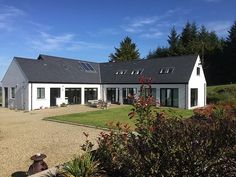 Rural House, Architect House, Bungalow, Irish, Cabin, House Design, Contemporary, Mansions, House Styles