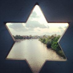 @reshefbe Star of David in Tel Aviv.