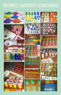 Mates a saco Montessori, Preschool Printables, Preschool Crafts, Math Manipulatives, Subitizing, Color Crafts, Homeschool Math, Math Class, Play To Learn