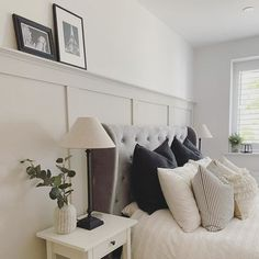 Dream Bedroom, Home Decor Bedroom, Bedroom Wall, Master Bedroom, Bedroom Ideas, Bedroom Color Schemes, Bedroom Colors, Living Vintage, Bedroom Styles