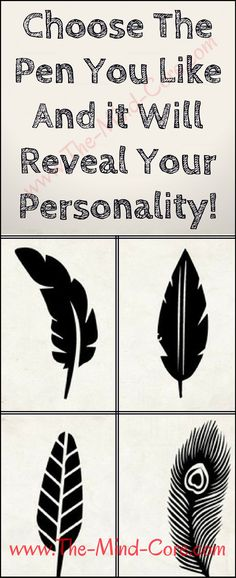Choose The Pen You Like And it Will Reveal Your Personality!