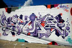 New Spone – read more @ http://www.juxtapoz.com/Graffiti/new-spone – #graffiti #spone #robotic