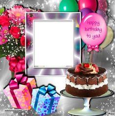 Happy Birthday To Ya, Birthday Wishes With Photo, Advance Happy Birthday, Happy Birthday Michelle, Birthday Photo Frame, Happy Birthday Photos, Birthday Frames, Happy Birthday Messages, Birthday Table