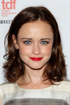 Alexis Bledel | Proof That Bangs Can Totally Change Your Face