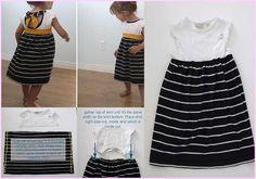 hacer-vestido-nina-playera-reciclada-paso-a-paso