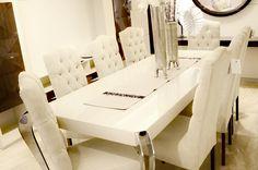 #Mesa de Salon y #Sillas. #Table #chair Muebles Benitez