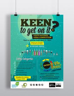 """Keen to get on it?"" Youth alcohol video competition, Rotorua Lakes Council"