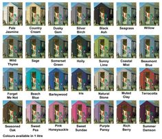 Cuprinol Garden Shades 1L | All Colours Stocked | Garden Shades Paint