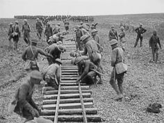 WW1 Narrow gauge train lines in France - World War One - Historic Steam Trains & Railways