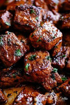 12. Cajun Butter Steak Bites