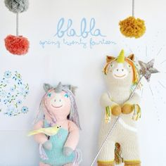 New Unicorn blabla dolls in the upcoming Spring 2014 collection!!! YESSSS!!! @blablakidsshop