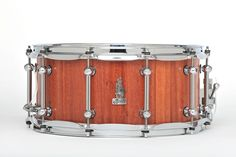 14 x 6.5 BRADY Jarrah Block snare drum (Natural satin finish).