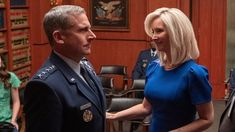 Lisa Kudrow has joined Steve Carell on the Netflix comedy 'Space Force' — find out when it premieres, and check out first-look photos. Steve Carell, Jerry Seinfeld, John Malkovich, Batman Begins, New Netflix, Shows On Netflix, Bruce Willis, Gotham, Greg Daniels