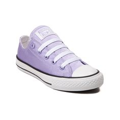 Shop for Youth Converse All Star Lo Satin Sneaker in Lavender at Journeys  Kidz. 2784b298a