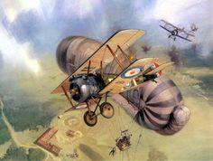 1917 10 Sopwith Camel B6314 28 Squadron 2Lt WH Winter