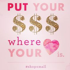 """""""Put your money where your heart is. #shoplocal #shopsmall #buylocal thanks @mrsmonogram for the graphic""""  www.shoplocalraleigh.org"""