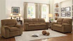 Talon Transitional Fabric Living Room Set