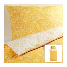 ÅKERTISTEL Bettwäscheset, 2-teilig IKEA Wendedecke. Bettbezug mit verdeckten Druckknöpfen, die die Decke am Herausrutschen hindern.