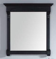 """James Martin 147-114-5335 Brookfield 39.5"""" Mirror, Antique Black"""