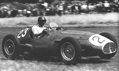 Juan Manuel Fangio, Silverstone 1953, Maserati A6GCM