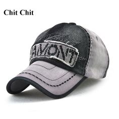 d2fe0804580c3 Chit Chit Casual Denim Embroidery Baseball Cap Snapback Caps For Men Custom  Hats -in Baseball Caps from Men s Clothing   Accessories on Aliexpress.com  ...