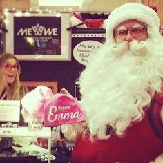 #tb #joulupukki #mewepipo #pukki  #santaclaus #mewebeanie #pink #custom #gift www.mewe.fi