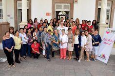 La directora general del Sistema para el Desarrollo Integral de la Familia (DIF) Michoacán, Rocío Beamonte, realizó una visita por varios espacios del organismo y entregó un detalle a las ...