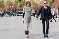 Tommy Ton's street style photos from the spring 2015 fashion shows. Fashion Couple, All Fashion, Fashion Photo, Fashion Pics, Justin O'shea, Fashion Gone Rouge, Spring 2015 Fashion, Tommy Ton, Stylish Couple