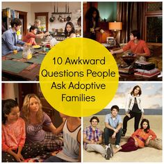 awkward-adoption-questions...people are so clueless sometimes. Read up & educate yourselves, please!