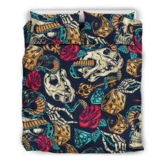 Are you looking for unique bedding sets for adults? We got you covered. All of our bedding sets have unique designs such as gothic bedding sets, skull bedding sets and more. Our bedding sets are super-soft, comfortable, and perfect for any season. Each bedding set comes with a duvet cover and 2 pillow covers. Blue Bedding Sets, Queen Bedding Sets, Gothic Bed, Japanese Warrior, Modern Warfare, Pillow Inserts, Unique Bedding, Pillow Covers, Adventure