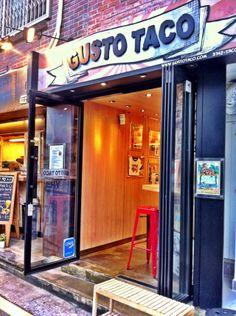 Gusto Taco inHongdae/Sangsu - literally the best tacos I've ever had