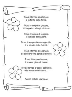 Lettera data a me in quinta M. Italian Phrases, Service Learning, Italian Language, Irish Blessing, Learning Italian, Graduation Day, Inspiring Things, Jokes Quotes, Nursery Rhymes