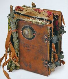Book of treasures1, on Nina Bagley's blog http://www.ornamental.typepad.com/