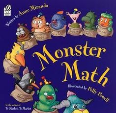 Monster Math by Anne Miranda is a math lesson turned into a fun and entertaining storybook. You can simply read the book or you can have your little mathematician help you guess how many new monsters arrive and leave on each page. The illustrations are adorable and even if the math skills are above your toddler or preschoolers heads they will still enjoy the book.