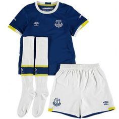 Camisetas del Everton para Niños Home 2016 2017