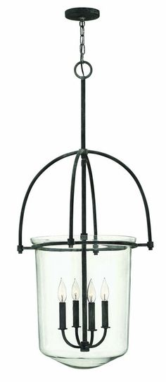 View the Hinkley Lighting 3034 4 Light Indoor Urn Pendant from the Clancy Collection at Build.com.