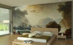 Risultati immagini per papier peint trompe l'oeil fresque murale