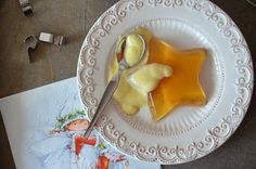 Apfel-Zimt-Wackelpudding mit Vanillesauce - Ninas kleiner Food-Blog