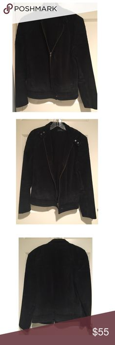 ANTIK BATIK SUEDE MOTO JACKET ANTIK BATIK a French brand. A suede motorcycle jacket. Looks great zipped, unzipped and over your shoulder. Jackets & Coats