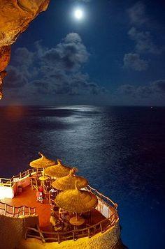 Cova d'en Xoroi, Balearic Islands, Spain #menorcamediterranea