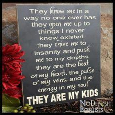 My kids are my everything....♥  Single mother quotes Parenting quotes Motherhood