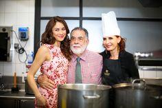 Director Francis Coppola served as chef for Dior dinner in Marrakech #royalmansour #franciscoppola #cooking #chef #diordinner #marrakech #morocco