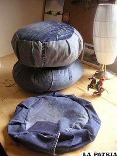 9 ideas originales para reciclar tus jeans   Aprende a Decorar
