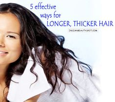 longer, thicker hair