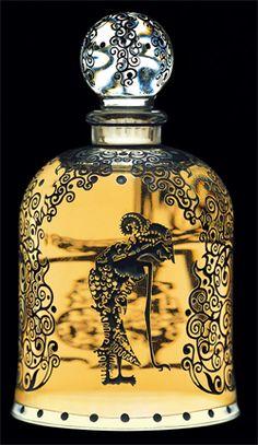 serge lutens...a gorgeous bell jar! via Leslie Singers